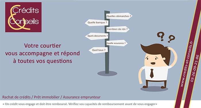 Calcul de taux d'endettement. Courtier à Reims regroupement de prêt. crédit immobilier