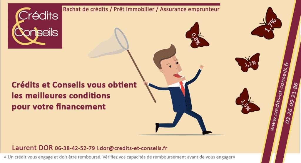 Crédits et Conseils : Courtier sur Reims